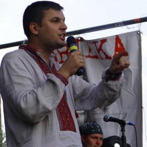 """На сцені фестивалю українського духу """"Бандерштат"""" 2010 р.Б."""