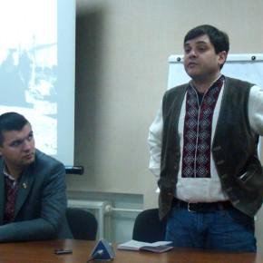 Зустріч з внуком Степана Бандери у Луцьку 2009 р.Б.