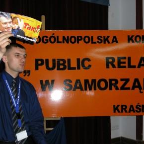 Виступ на конференції з питань розвитку комуніакацій у Польщі 2005 р.Б.