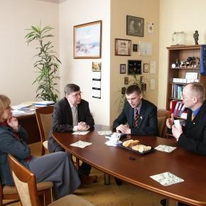 Зустріч з польським сенатором у місті Лодзь 2005 р.Б.