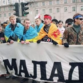 "Участь в акції ""Чорнобильський шлях"" у Мінську 2005 р.Б."