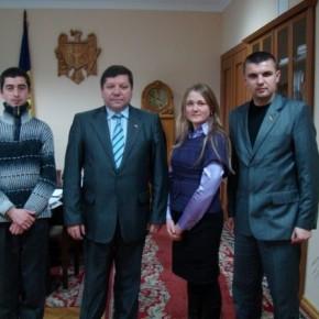 З віце-прем'єром уряду Молдови у Кишиневі 2009 р.Б.