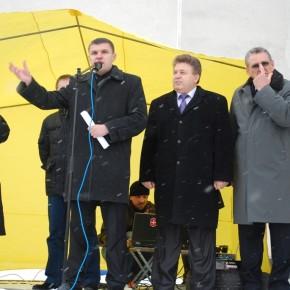 Мітинг проти запровадження нового податковго кодексу 2011 р.Б.