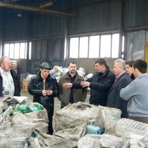 Вивчення роботи сміттєсортувальної станції 2011 р.Б.