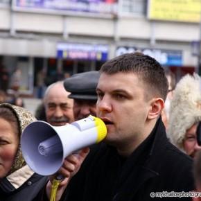 """Акція """"Геть Сталіна!"""", """"Геть комуну!"""" 2010 р.Б."""