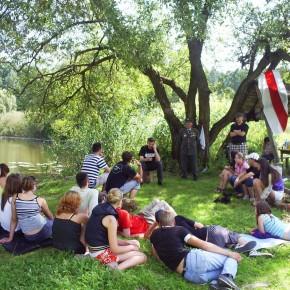 Участь в літньому таборуванні Молоді БНФ 2011 р.Б.