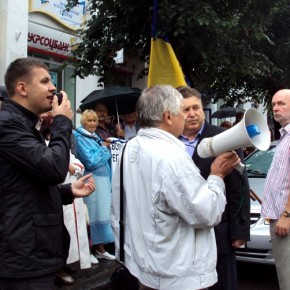 Акція в підтримку Юліїі Тимошенко 2011 р.Б.