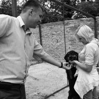 """Ігор Гузь та члени партії """"За Україну!"""" відвідали притулок для безпритульних тварин + ФОТО"""