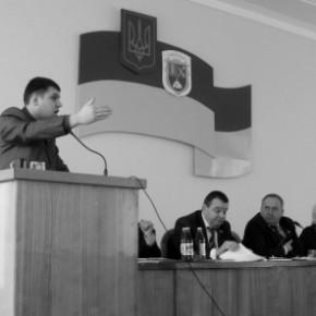 """Ігор Гузь: """"У Горохові Партії регіонів не дали прав на комунальне майно!""""+ВІДЕО"""