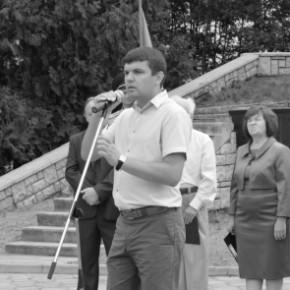Ігор Гузь вшанував загиблих воїнів-визволителів Старої Вижівки в роки Другої світової війни